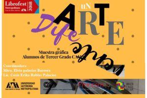 """""""Un arte diferente"""" en el Librofest 2018"""