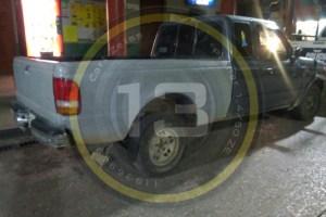 Localizan camioneta abandonada entre cañales de Omealca