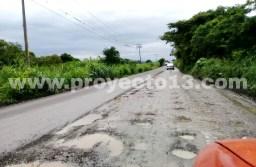 Empresas constructoras destrozan carreteras estatales Omealca-Tezonapa y Potrero-Paso del Macho