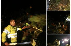 Deslave bloquea carretera federal Zongolica-Orizaba