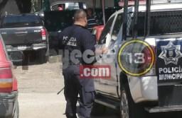 Policías de Atoyac pararon labores y se manifiestan en contra de su comandante