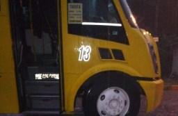 """Asaltantes con cubre bocas, roban a chófer de camión """"Garita"""" en Río Blanco"""