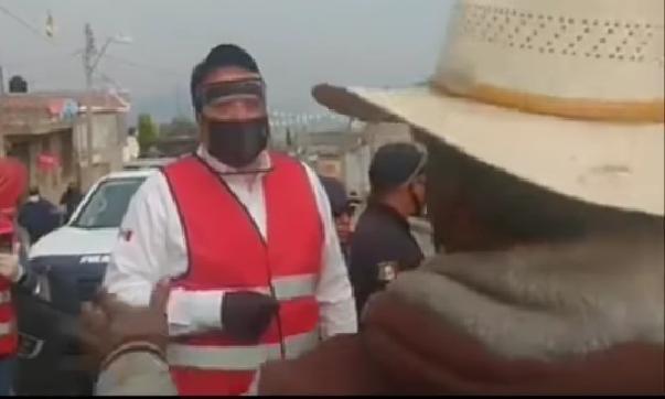 """Con sanitización por COVID19, """"temen ser envenenados"""" en Ayahualco- Veracruz"""
