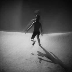 """Running toward the water"" - Asier Garagarza - 070715"