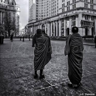 """""""Monjes fotógrafos"""" (fragmento) - J.G. Damlow - 080415"""