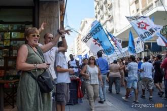Se realizó el primer paro nacional de empleados estatales en la era Macri #Proyecto341 #ParoNacional #Macri #ATE #fotoperiodismo #Rosario PH: Sebastian Criado , reservados todos los derechos / all rights reserved