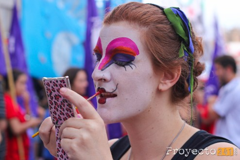Marcha por el día de la mujer © Sandra Benoni, proyecto341.com reservados todos los derechos / all rights reserved