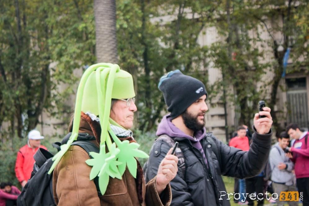 Marcha Mundial de la Marihuana. Fotografia: © Estefania Miguel, proyecto341.com reservados todos los derechos / all rights reserved