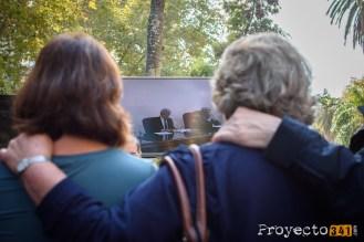En la calle se pudo seguir la audiencia. Fotografía: © Sebastián Criado, proyecto341.com reservados todos los derechos / all rights reserved