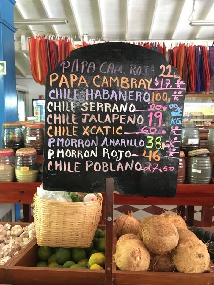 Mercado Playa del Carmen