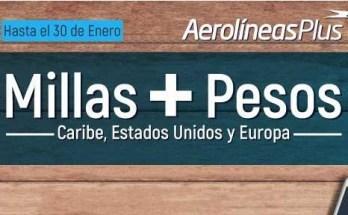 Aerolineas Promocion Millas + Pesos