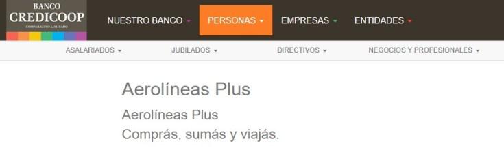 Banco Credicoop Tarjetas de Credito Aerolineas Argentinas