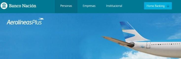 Banco Nacion Tarjetas de Credito Aerolineas Argentinas