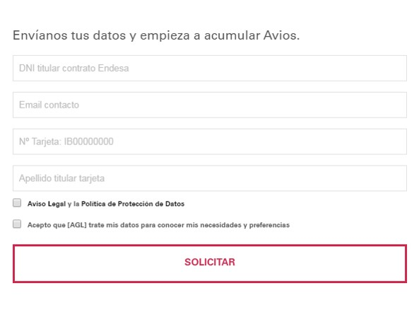 Endesa Iberia Plus Clientes Alta Millas Avios 3