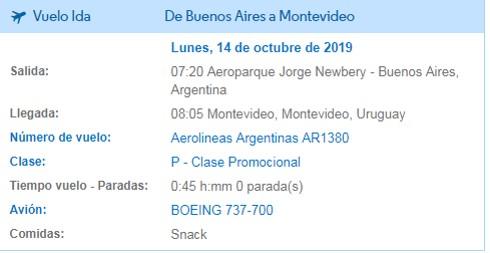 Aprende a canjear millas por pasajes gratis en Aerolineas Argentinas 10