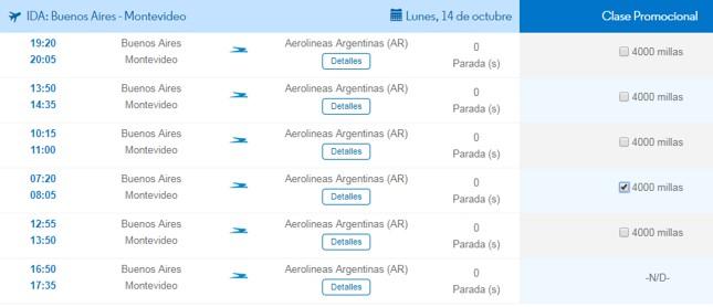 Aprende a canjear millas por pasajes gratis en Aerolineas Argentinas 7