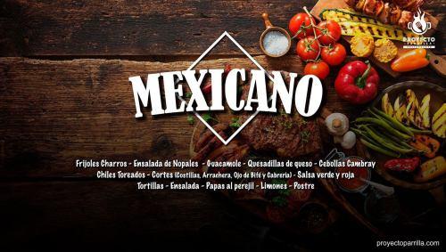 Menú Mexicano - Proyecto Parrilla Restaurante