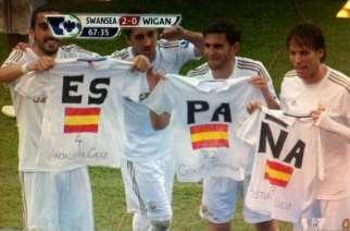 El Swansea de Laudrup cuenta de momento con seis españoles en la plantilla