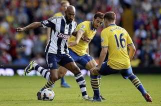 El WBA frena al Arsenal