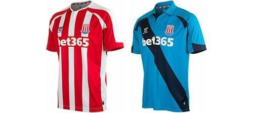 Así vestirá el Stoke City en la 2014-2015 | Home & Away kit