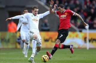 El Swansea remonta para derrotar al Manchester United: 2-1