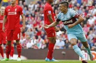 El West Ham conquista Anfield