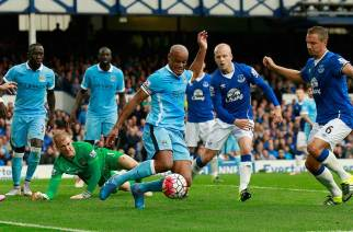 Manchester City y Everton, frente a frente