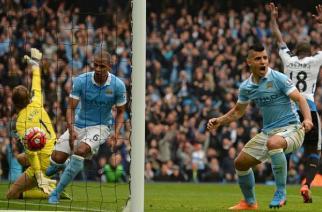 Set del Manchester City con un Agüero espectacular