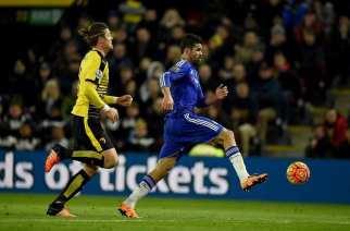 El Chelsea se aleja de Europa