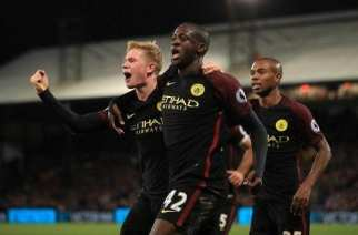 Yaya Touré se viste de héroe para darle los tres puntos al Manchester City
