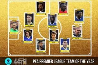 Chelsea y Tottenham lideran el XI PFA