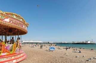Brighton, la playa de Inglaterra