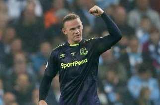 El gol 200 de Rooney da el empate al Everton en el Etihad