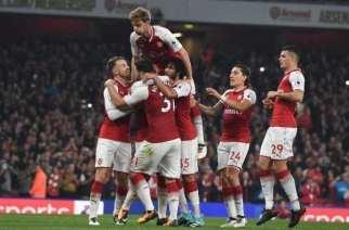 Lacazette guía la victoria del Arsenal