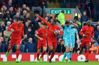 El Liverpool recibe al Burnley, una seria amenaza