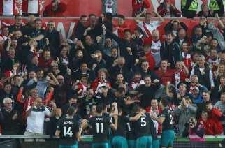 Gabbiadini salva al Southampton y condena al Swansea y WBA