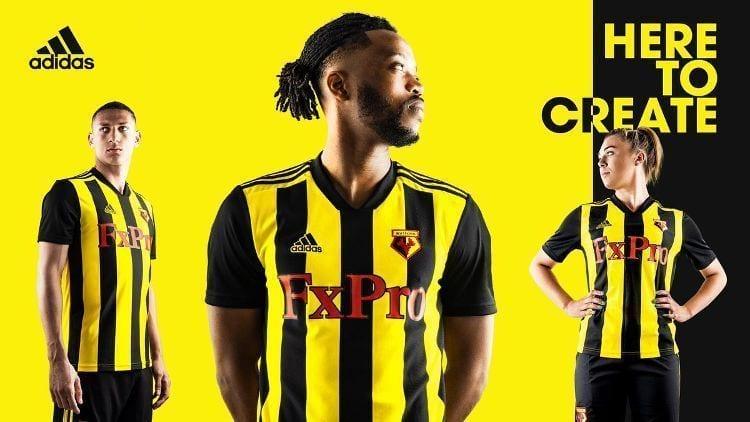 Watford Kit Jersey Camiseta 2018-19