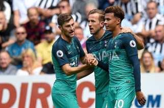 El Tottenham se impone en un partido lleno de altibajos