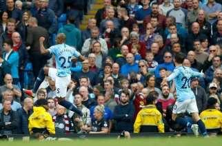 El Manchester City no falla y golea al Burnley