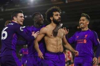 Remontada del Liverpool para recuperar el liderato