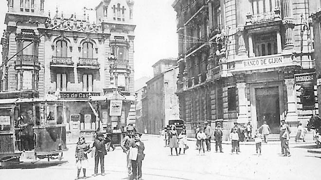 Banco de Gijón (Gijón, Asturias). Imagen: Diario El Comercio.