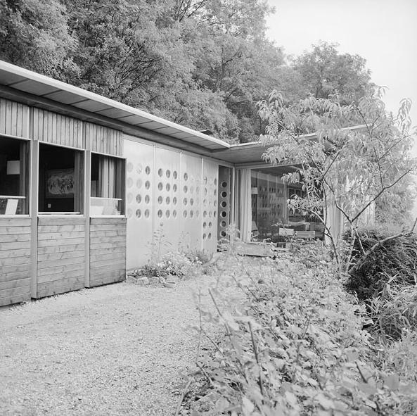 La maison de Jean Prouv Jean Prouv Nancy Francia1954  PROYECTOS 7  PROYECTOS 8