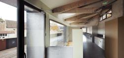 Interior, refectorio de los alumnos