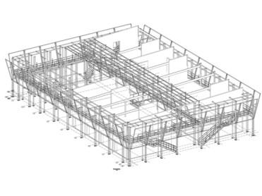 Sistema tridimensional estructural