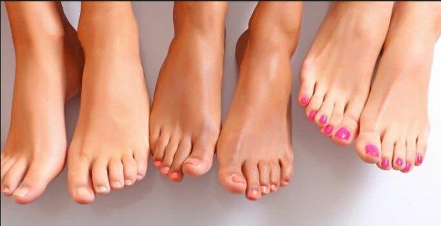 Косточки на ступнях или поперечное плоскостопие
