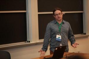 Eric at LibrePlanet