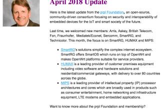prpl Perspectives, Newsletter April 2018