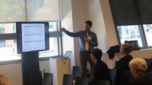 7th National Conference on Housing Mobility: PRRAC Senior Research Associate Brian Knudsen giving a presentation.