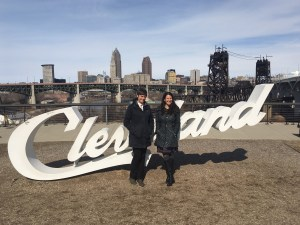 Cleveland, OH:   Housing Choice Partners Executive Director Andrea Juracek and PRRAC Deputy Director Megan Haberle.