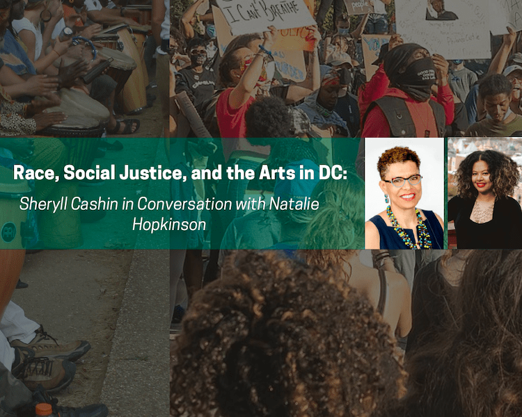 2/26 @ 3pm EST: Race, Social Justice, and the Arts in DC: Sheryll Cashin in Conversation with Natalie Hopkinson (via Youtube)